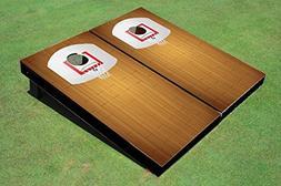 Floating Pong Basketball Court Cornhole Boards, 2x4 , Regula