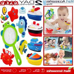 Bath Toy Fishing Bathtub Toys for Boat SEA Ocean Animals Tod