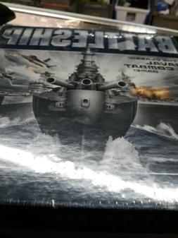 Battleship the Classic Naval Combat Board Game, Hasbro New &