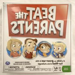 Spin Master Beat The Parents Board Game Family Trivia Challe