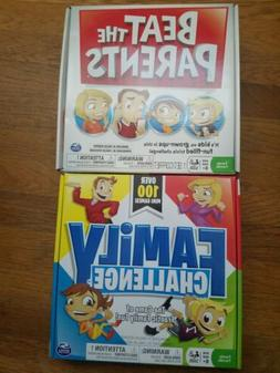 BEAT THE PARENTS Board Game KIDS vs GROWN-UPS Pre-Owned FAMI
