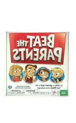 Beat The Parents Board Game! Kids vs Grown Ups-Family Fun Tr
