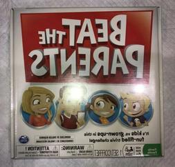 Beat the Parents Board Game Kids vs Grown Ups New SEALED