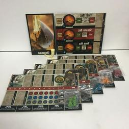 Blood Rage Board Game Promo Clan Boards, Clans Tokens, Valha