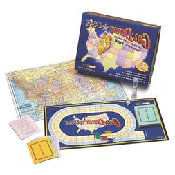 Geo Derby USA Board Game, Ages 8+, 1 ea