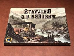 Eagle Games Board Game Railways of the Western U.S. Expansio