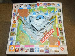Board Only 2020 Disney Parks Theme Edition Monopoly Game New
