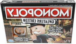 Monopoly Game: Cheaters Edition Board Game Ages 8 and Up, H