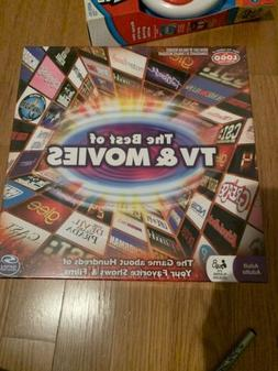 Brand New Sealed Spin Master Games - The Best of Movies and