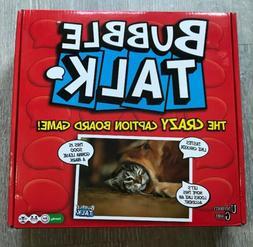 BUBBLE TALK THE CRAZY CAPTION BOARD GAME - UNIVERSITY GAMES