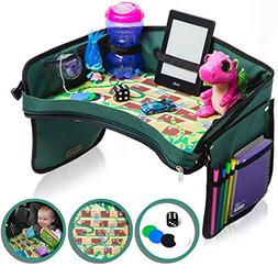 Premium Kids Car Seat Tray - Bonus SNAKES + LADDERS Game | R