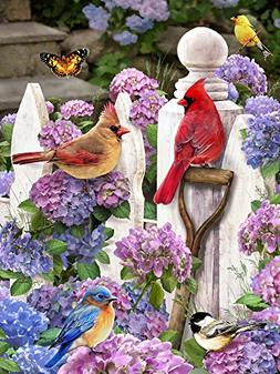 Vermont Christmas Company Cardinals & Friends Jigsaw Puzzle