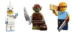 Carpenter, Goblin, Unicorn Girl: Lego Collectible Minifigure