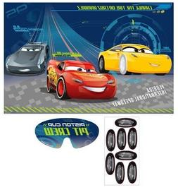 CARS 3 PARTY GAME POSTER ~ Birthday Supplies Decorations Act