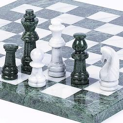 Central Park South Deluxe Marble Chess Set - Extra Large Set