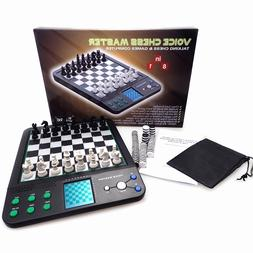 Chess Master Electronic Talking Voice Chess Games Computer S