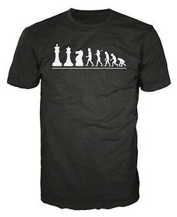 Chess Player Evolution Funny Mind Board Game Smart Moves T-s