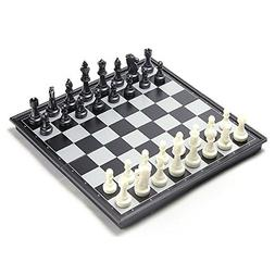 Chess Set, CHengQiSM Folding Magnetic Travel Chess Sets Port