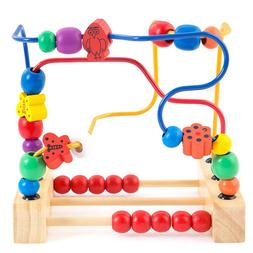 Children's Toys Wooden Beads <font><b>Legos</b></font> Early