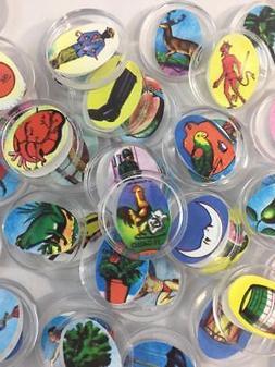 CHIPS Authentic Mexican Loteria Bingo Board Game HARD Plasti