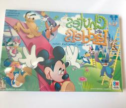 Chutes And Ladders Board Game Disney Theme Park Edition