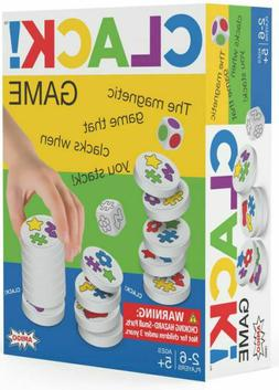 Amigo Clack! Game - Magnetic Stacking Disks Family Activity,