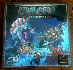 CLANK SUNKEN TREASURES Board Game Expansion -Complete, NEW-