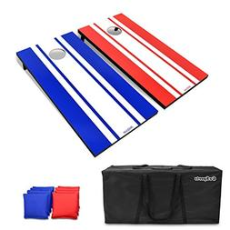 GoSports Classic CORNOHOLE SET,  Outdoor Game 8 Bags 4' x 2'