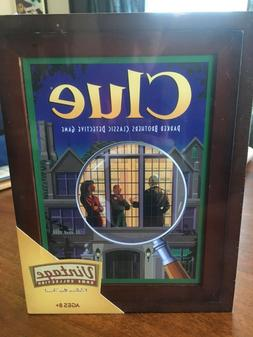 CLUE board game - Vintage Game Collection - wooden book box