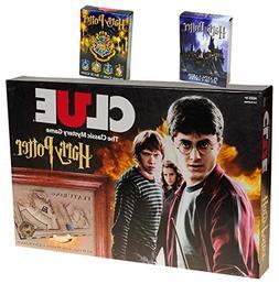 Clue Harry Potter Board Game _ Bonus 2 Unique Decks of Harry