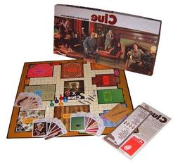 Clue Parker Brothers Detective Game 1972