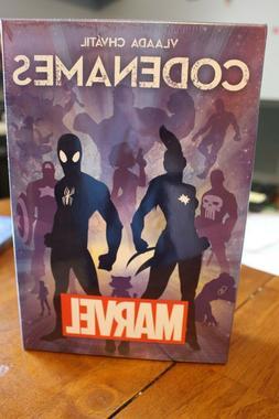 Codenames Marvel Board Game, New In Box, Sealed
