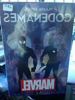 Codenames Game Marvel Edition Board Game NEW & Sealed Czech