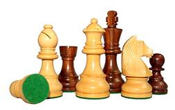 Stonkraft Collectible Folding Wooden Chess Game Board Set wi