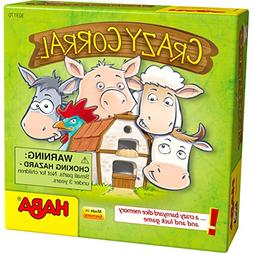 HABA Crazy Corral - A Barnyard Themed Pocket Sized Dice Memo