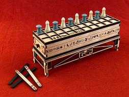 Custom Made SENET King Tut's Game Egypt Board Game! Own the
