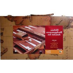 Deluxe Backgammon Attache Set by Go! Games