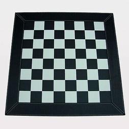 """22"""" Deluxe Walnut Chess Board Checker Pieces 2 3/8 Square St"""