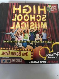 Disney High School Musical DVD Board Game Music Movie Mattel