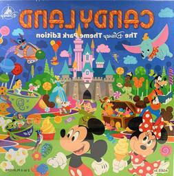 Disney Parks Candyland Theme Park Edition Board Game 2020 Ve