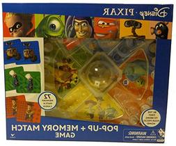 Disney Pixar Pop Up and Match Game Featuring: Wall - E, Cars