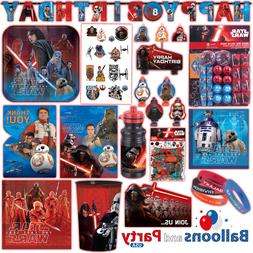 Disney Star Wars The Last Jedi EP8 Birthday Party Tableware
