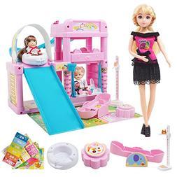 Gili Dolls & Playset for Little Girls, Princess Toys for Gir
