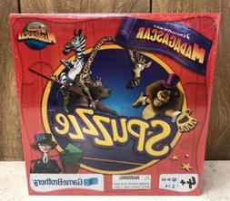 Dreamworks MADAGASCAR Spuzzle Puzzle Board Game - Brand New
