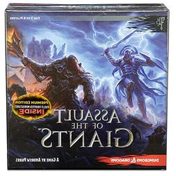 Dungeons & Dragons Assault of the Giants Board Game Premium