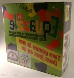 Equazzle Math Whiz Board Game 2 in 1 2-4 Player Perpetual Pu