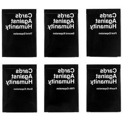 Expansion Packs 1-6 Set cards against humanity