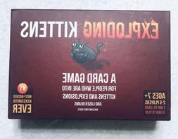 Exploding Kittens Original Edition Family Fun Magic Card Gam