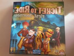 Factory Sealed Ticket to Ride First Journey Days of Wonder T