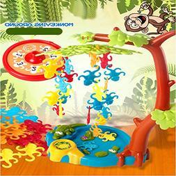 HOT Falling Tumbling Monkey Family Toy Climbing Tree Swing B